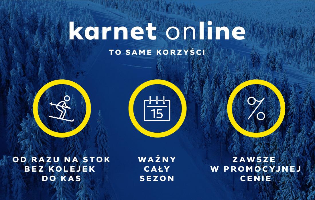 Karnet online to same korzyści