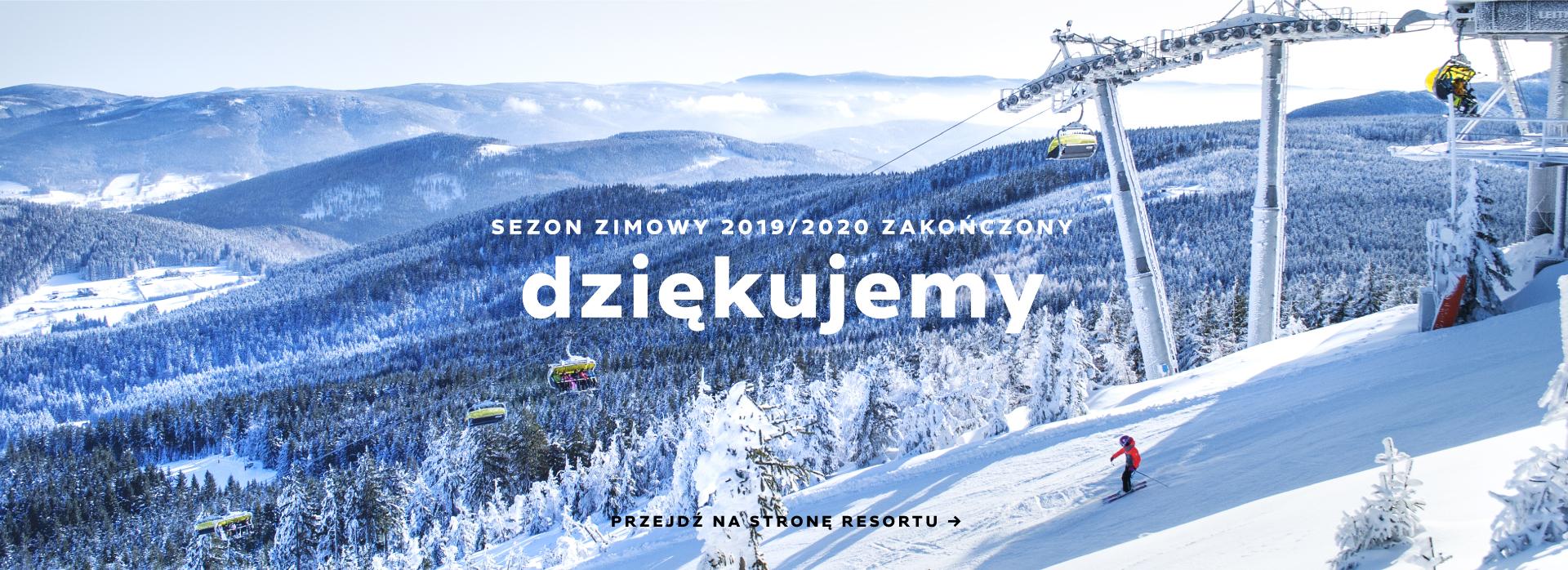 Zima Narty Snowboard Sanki - Ośrodek Narciarski Czarna Góra